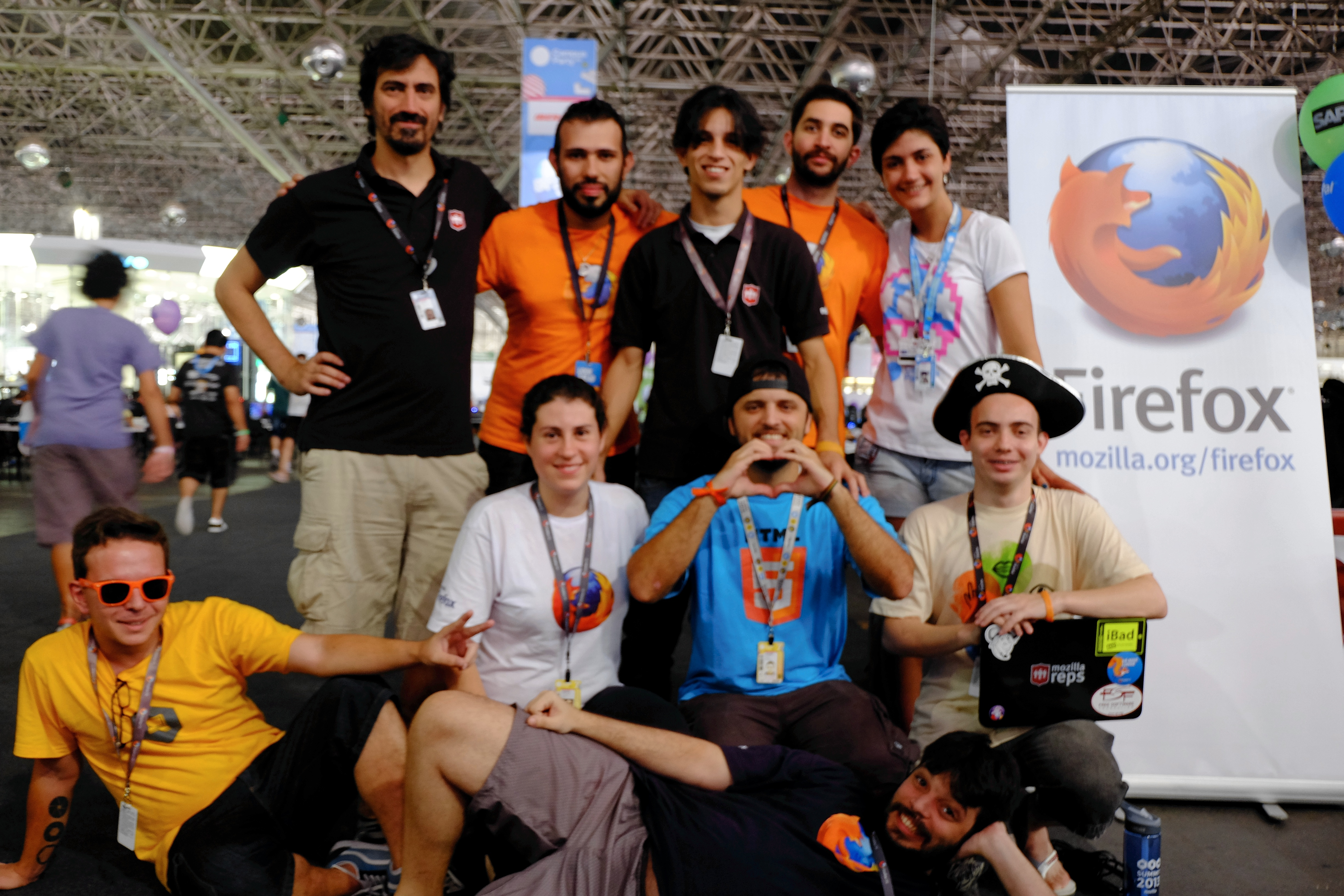Mozilla at Campus Party